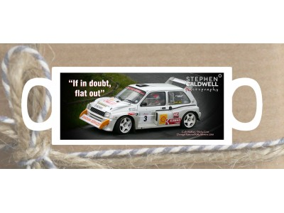 Colin McRae - Donegal - Irish Rallying Mug