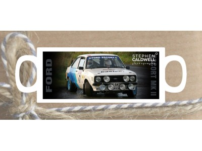 Ford Escort MkII - Irish Rallying Mug