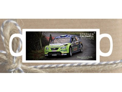 Marcus Gronholm - Rally Ireland - Irish Rallying Mug