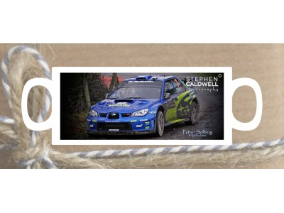 Petter Solberg - Rally Ireland - Irish Rallying Mug