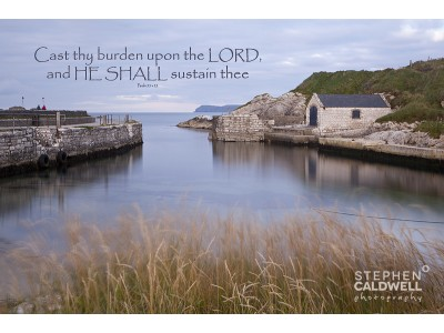 Ballintoy Harbour - Psalm 55