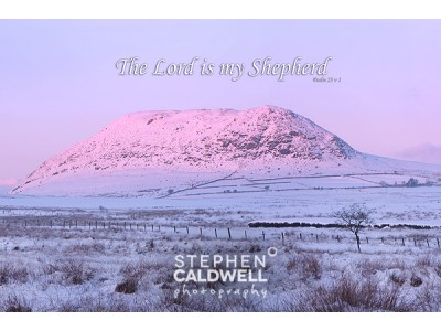Slemish at Dusk- Psalm 23
